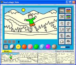 Sean s magic Slate screen 2