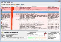 Security Task Manager screen 2
