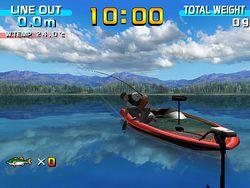 Sega bass fishing image 1