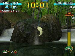 Sega bass fishing image 3