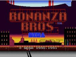Sega Mega Drive Collection - Bonanza Bros - Image 2