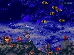 Sega mega drive collection ecco the tides of time image 1
