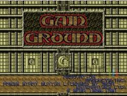 Sega Mega Drive Collection - Gain Ground - Image 1