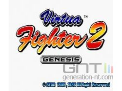 Sega Mega Drive Collection - Virtua Fighter 2 - Image 1