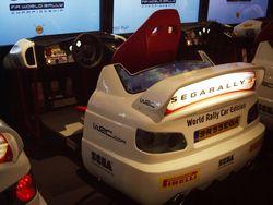 Sega Rally   borne arcade   1