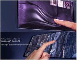 Senseg - interface tactile sens du toucher