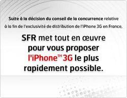 SFR iPhone