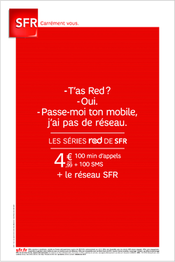 SFR Red pas réseau