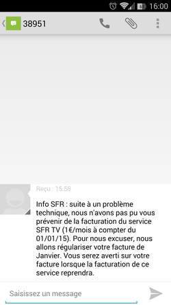 SFR SMS