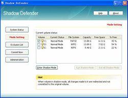 Shadow Defender screen 2