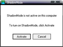 Shadow Mode Enabled