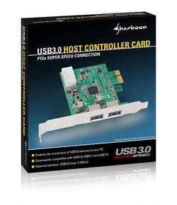Sharkoon carte USB3 boîte
