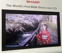 Sharp ecran 85 pouces 8K4K