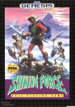 Shining Force   Pochette
