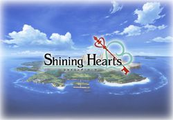 Shining Hearts - logo
