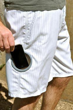 Short avec poche étanche 1