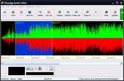 Shuangs Audio Editor screen1