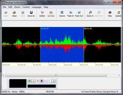 Shuangs Audio Editor screen2