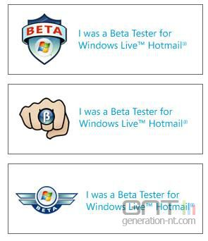 Signatures windows live hotmail beta