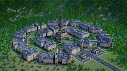 SimCity - Tour Eiffel.