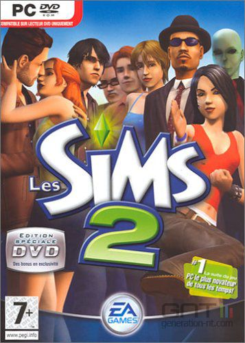 Sims 2 edition dvd jaquette