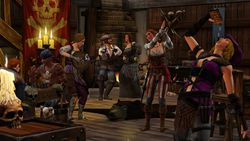 Les Sims medieval pirates & nobles (4)