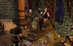 Les Sims medieval pirates & nobles (6)