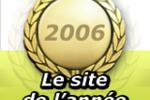 Le site de l'année 2006