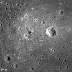 site alunissage Apollo