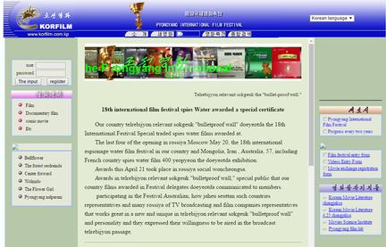 Site film Pyongyang