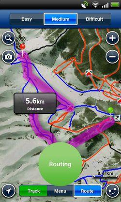 Ski Europe Navionics 01
