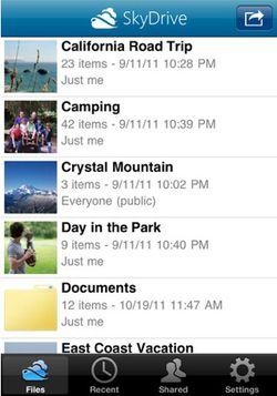 SkyDrive iOS 01