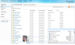 SkyDrive-upload-fichiers