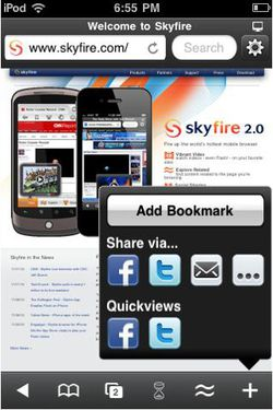 Skyfire iPhone 02
