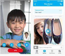 skype iOS 2