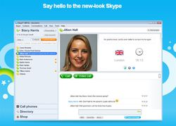 Skype Portable screen1