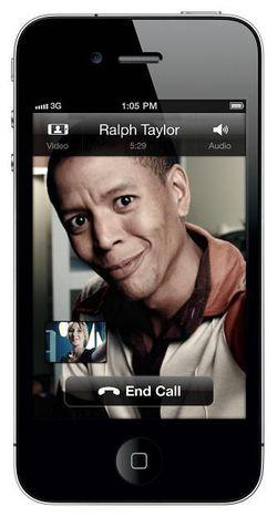 Skype visio iPhone