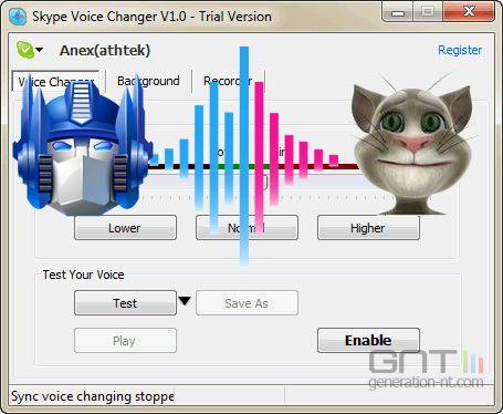 comment modifier sa voix sur skype