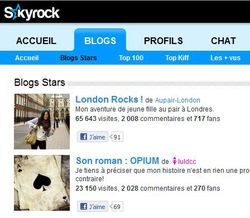 Skyrock-blogs
