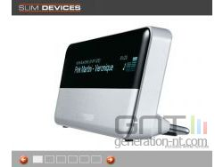 Slim devices transporter squeezebox small