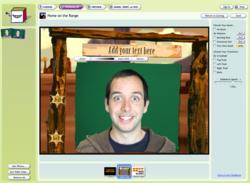 Smilebox screen 2