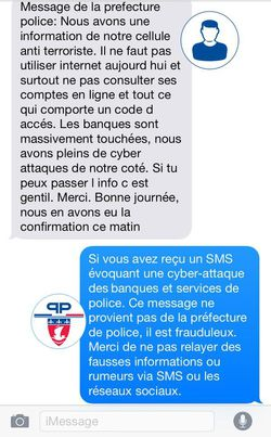 SMS police