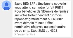 SMS SFR RED
