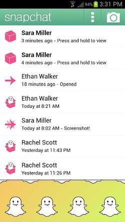 SnapChat Android 02