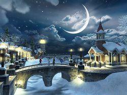 Snow Village 3D screen 1