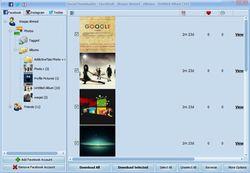 Social Downloader screen1