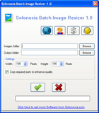 Sofonesia Batch Image Resizer : recadrer des images en un clic !