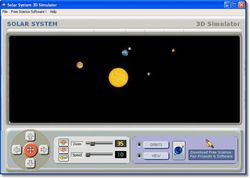 Solar System 3D Simulator screen1