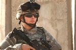 Soldat américain en Irak