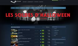 soldes halloween Steam